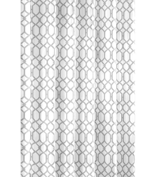 Shoreline Trellis Cotton Shower Curtain by Tommy B