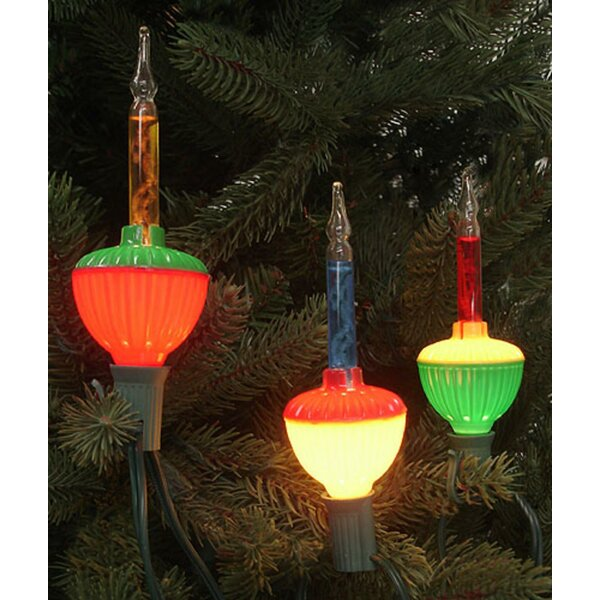Retro Christmas Bubble Light Bulb by The Holiday Aisle