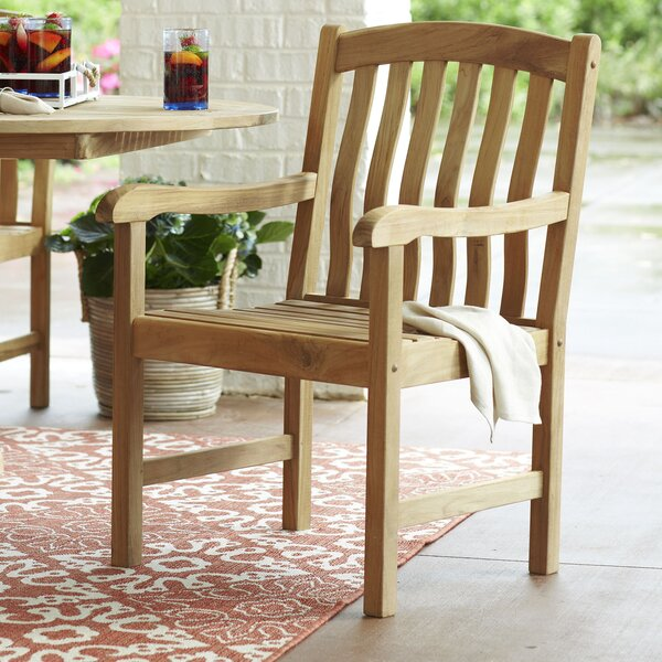 "Summerton Teak Patio Dining Chair by Birch Laneâ""¢ Heritage"