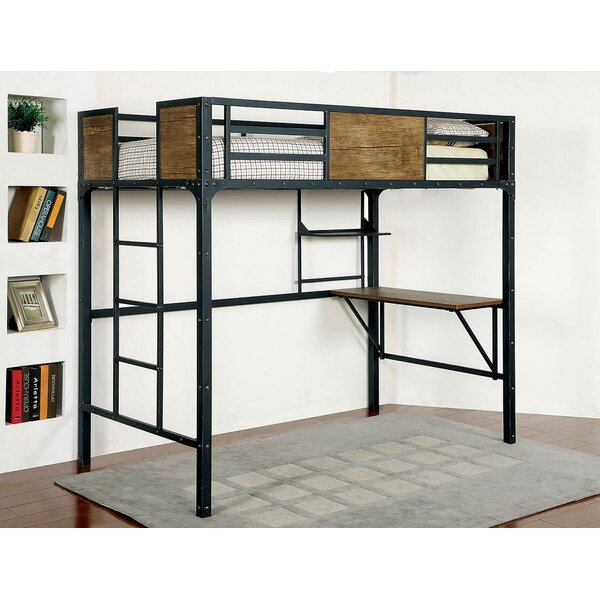 Clapton Twin Bed with Working Station by Isabelle & Max