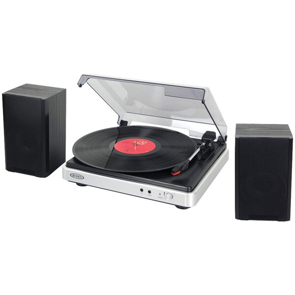 3-Speed Turntable with Stereo Speaker by Jensen