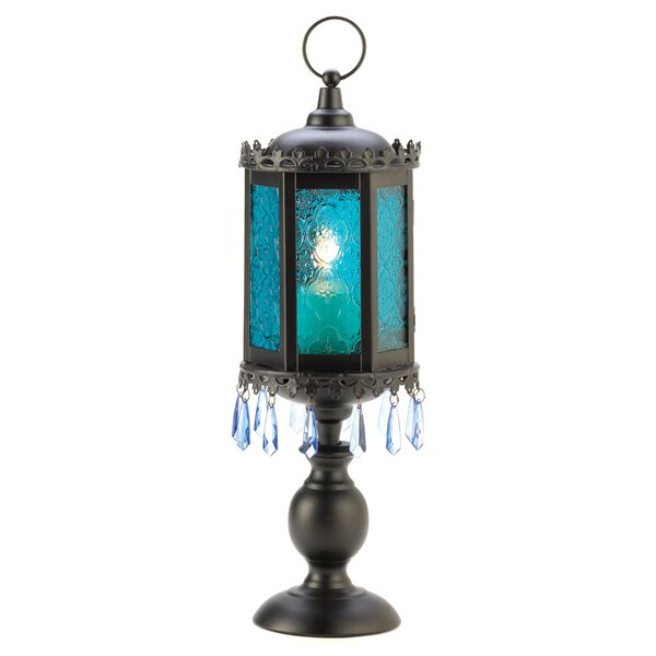 Goblet Iron and Glass Lantern by Zingz & Thingz