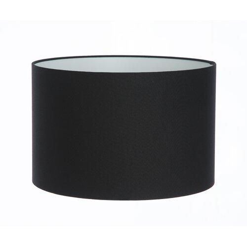 Lampenschirm aus Leinen Wayfair Basics Farbe: Schwarz| Größe: 30 cm H x 60 cm B x 60 cm T | Lampen > Lampenschirme und Füsse > Lampenschirme | Wayfair Basics