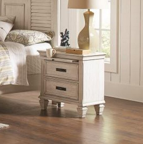 Friddle 2 Drawer Nightstand by Highland Dunes