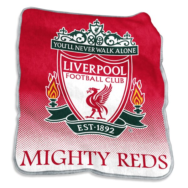 Liverpool Raschel Throw by Logo Brands