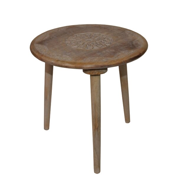 Mangume Antique End Table by Bungalow Rose