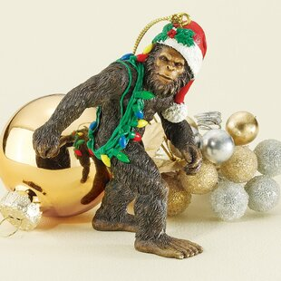 Bigfoot The Holiday Yeti Ornament. By Design Toscano
