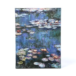 Water Lillies by Claude Monet Painting Print on Wrapped Canvas by Alcott Hill