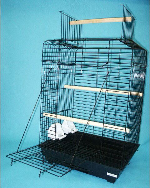Open Play Top Small Parrot  Bird Cage by YML