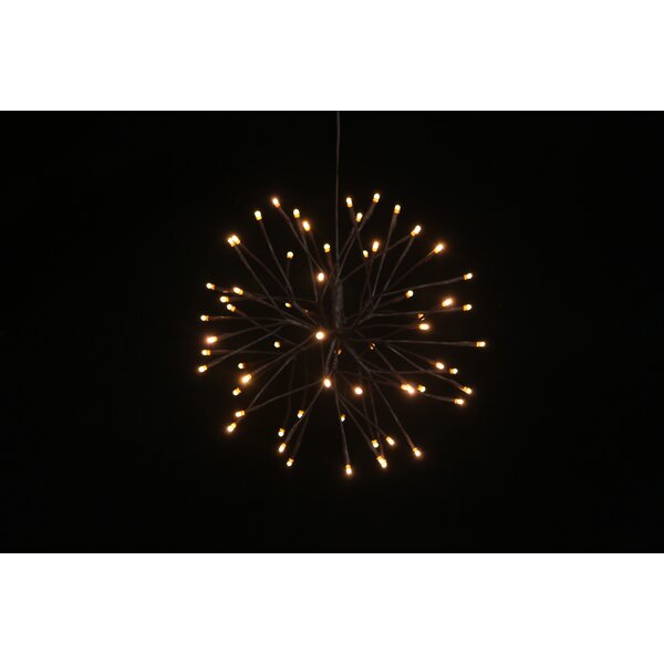 Brown Branch Starburst with 64 LED Lights by Hi-Line Gift Ltd.