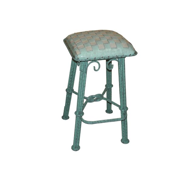 Mueller Iron 30 Bar Stool by August Grove