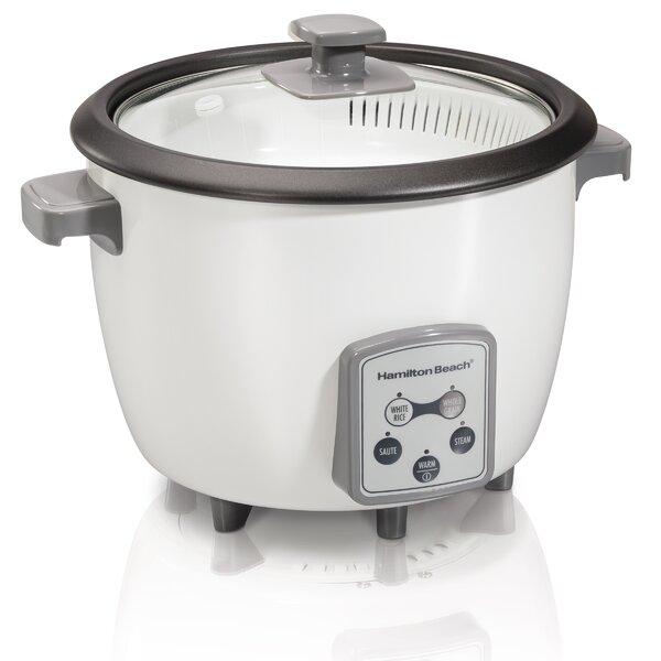 16-Cup Digital Rice Cooker by Hamilton Beach