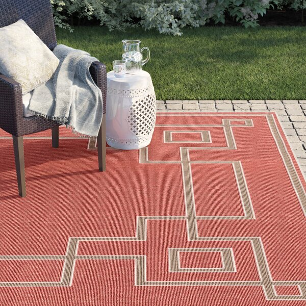 Amherst Rust Area Rug By Sol 72 Outdoor