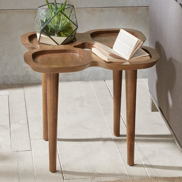 Paolucci End Table by Bungalow Rose