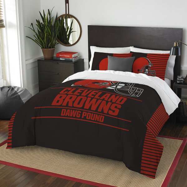 NFL Draft 3 Piece Full/Queen Comforter Set by Northwest Co.