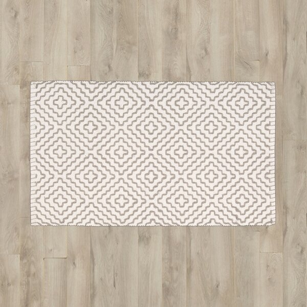 Mascorro Beige/Gray Area Rug by Bungalow Rose