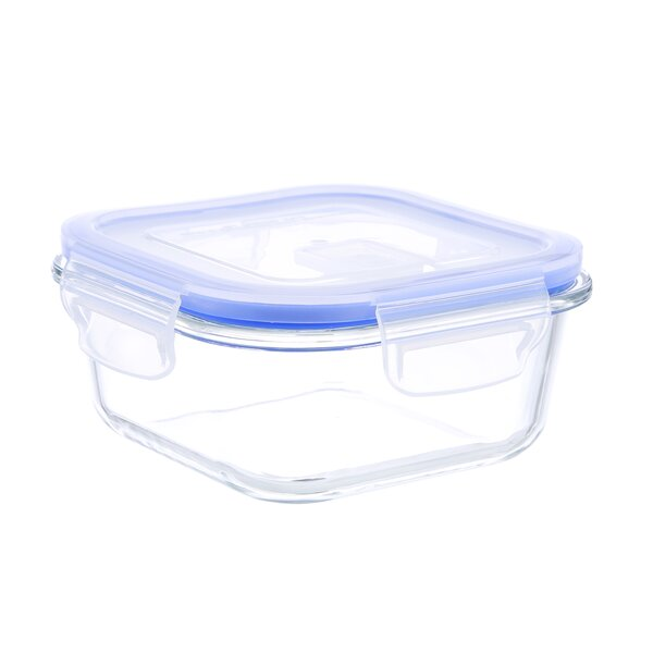Go Green Glasslock Elements Square 17 Oz. Food Storage Container by Kinetic