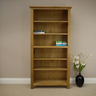 Exceptional Solid Oak 180cm Bookcase