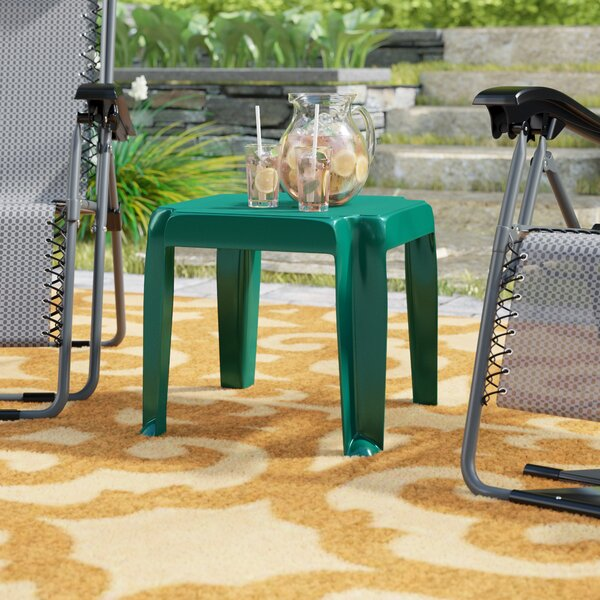 Snake River Plastic Side Table (Set of 2) by Red Barrel Studio