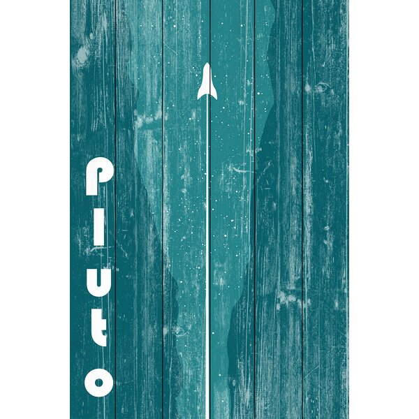 Pluto Painting Print on Wood by Marmont Hill