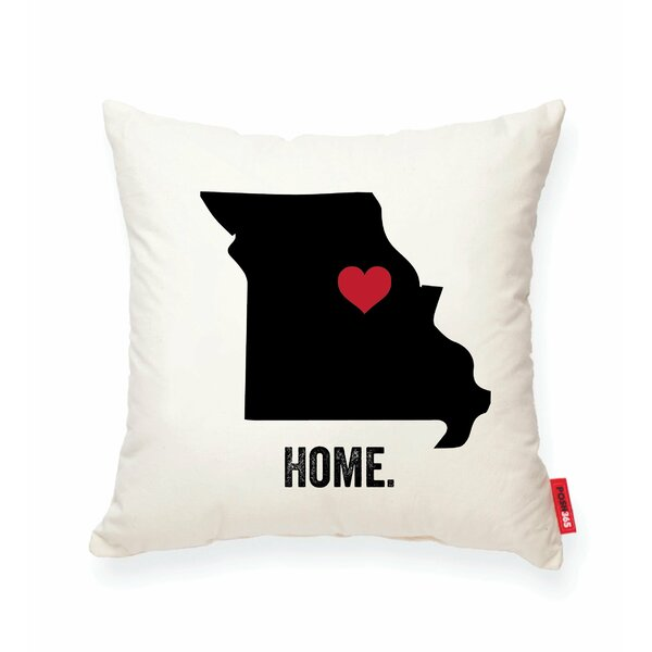 Pettry Missouri Cotton Throw Pillow by Wrought Studio