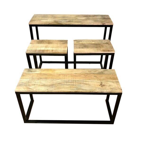 Union Rustic Brown Console Tables