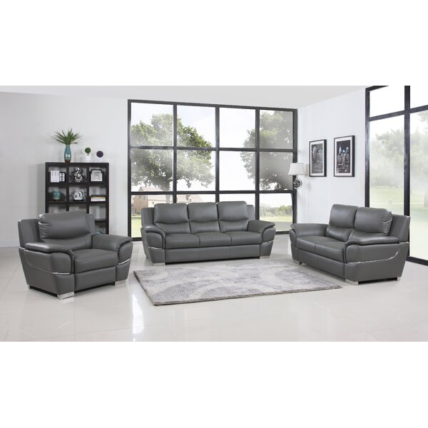 Trower 3 Piece Living Room Set by Red Barrel Studio