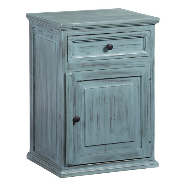 Abram 1 Drawer Nightstand by Ophelia & Co.