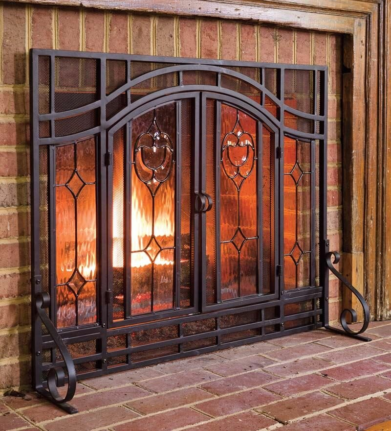 door fireplace replacement shipping superior all free doors on for glass