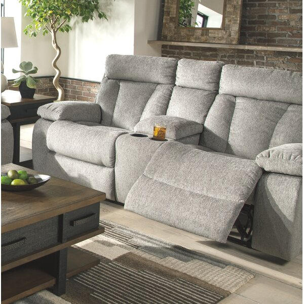 Modern Style Evelina Reclining Loveseat by Red Barrel Studio by Red Barrel Studio
