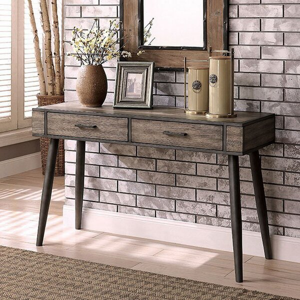 Zetilla Mid-Century Modern Console Table By Union Rustic by Union Rustic New