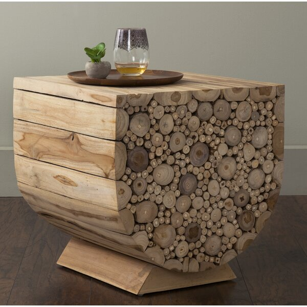 Hermosillo End Table by Bay Isle Home
