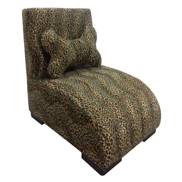 Upholstered Leopard Dog Lounge by ORE Furniture