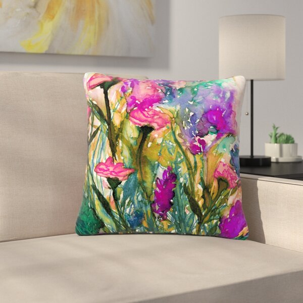 Ebi Emporium Floral Insurgence Outdoor Throw Pillow by East Urban Home