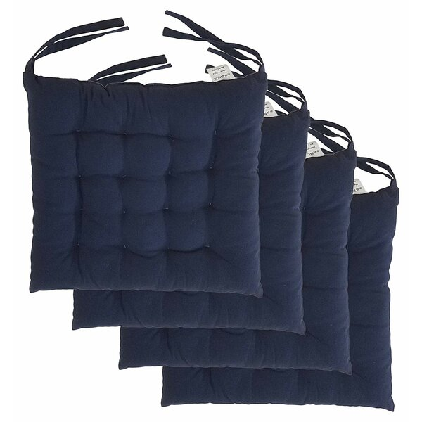 Cottone Indoor/Outdoor Dining Chair Cushion (Set of 4)
