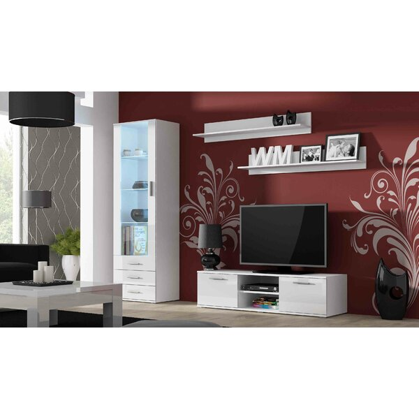 Jedicke 4 Piece Entertainment Center Set by Orren Ellis