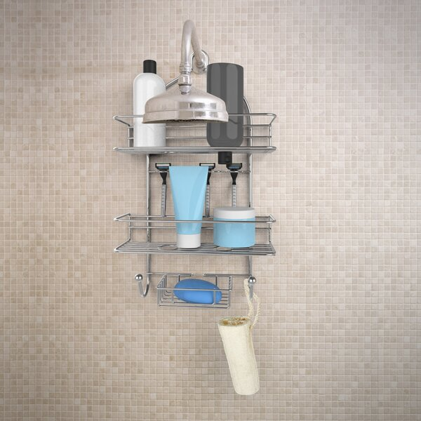 3-Tier Shower Caddy by Rebrilliant