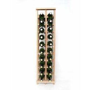 Premium Cellar Series 20 Bottle Floor Wine Rack by Wineracks.com