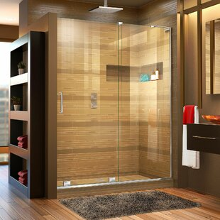 Best Reviews Mirage-X 60 x 72 Single Sliding Frameless Shower Door with Clearmax™ Technology ByDreamLine