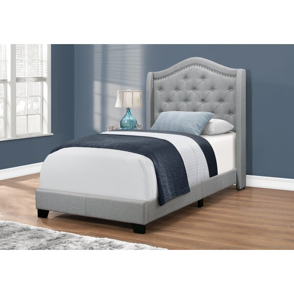 Mack Queen Upholstered Standard Bed By Rosdorf Park by Rosdorf Park Great price