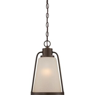 Affordable Bernville 1-Light Outdoor Pendant By Gracie Oaks