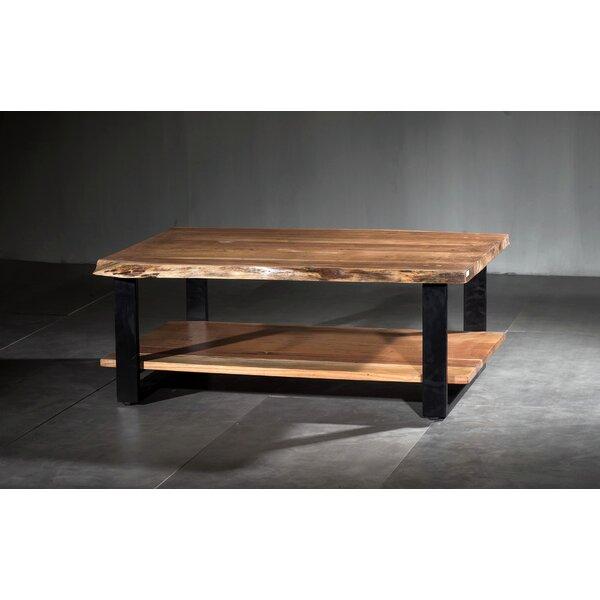 Mishti Live Edge Coffee Table by Union Rustic Union Rustic