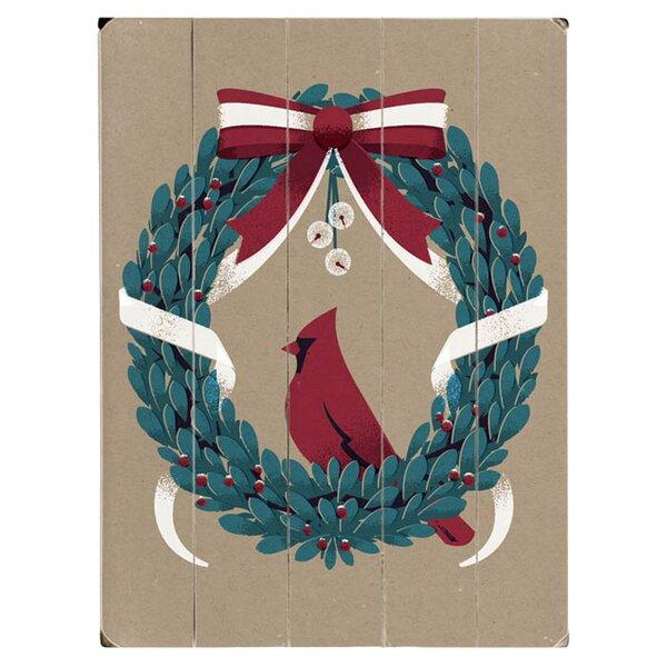 Vintaged Wreath Graphic Art Multi-Piece Image on Wood by Artehouse LLC