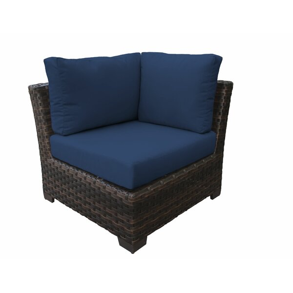 River Brook Patio Chair with Cushions by kathy ireland Homes & Gardens by TK Classics