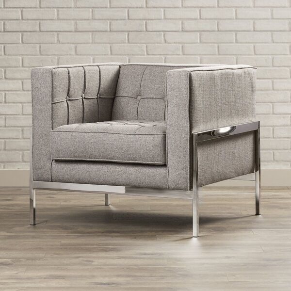 Kral Chesterfield Armchair by Brayden Studio Brayden Studio