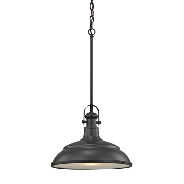 Anais 1-Light Dome Pendant by Breakwater Bay