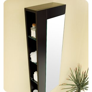 Reviews 13.75 x 39.25 Surface Mount Medicine Cabinet By Fresca