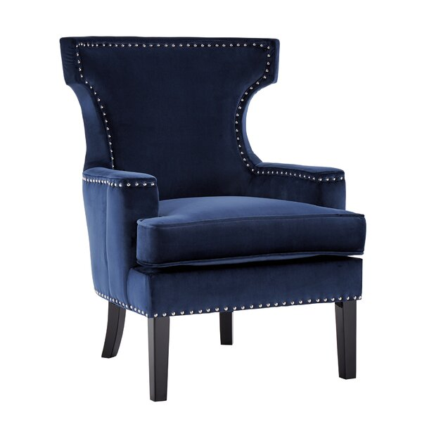 Mikhail Wingback Chair by Mercer41