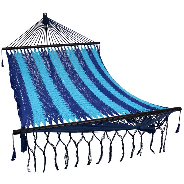 Larimore Double Spreader Bar Hammock with Stand by Bungalow Rose Bungalow Rose
