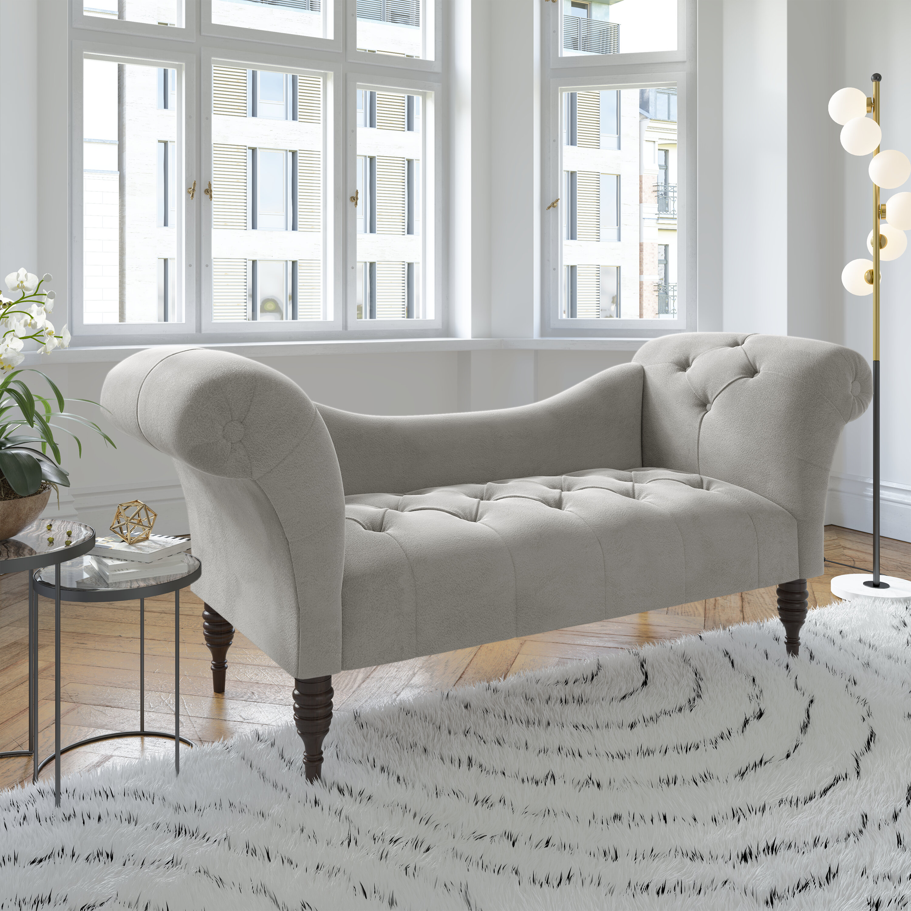 - Darby Home Co Dendy Tufted Chaise Lounge Wayfair.ca
